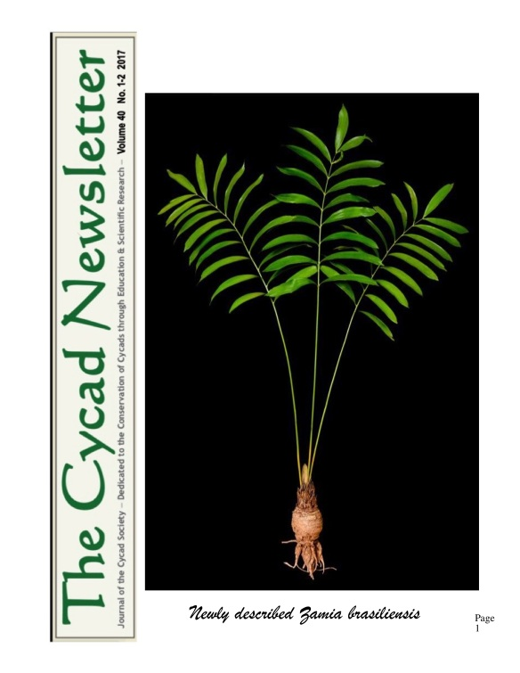 2nd Cycad Newsletter